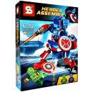 Heroes Assemble 145 Pcs Seri Sy516B Harga Rp 80.000