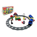 Intelligent Building Bricks Railway Bus Harga Rp 270.000
