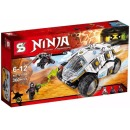 Ninja Thunder Swordsman 371 Pcs Seri Sy590 Harga Rp 165.000